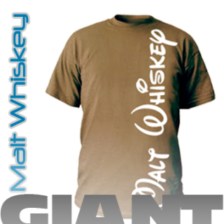 Malt Whiskey Men`s GIANT T-Shirt