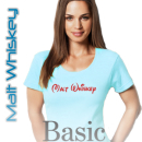 Malt Whiskey Women Boat Neck Basic