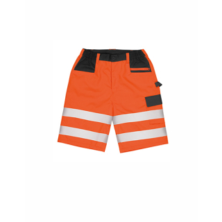 Result Safety Cargo Shorts - kurze Warnschutz Hose orange XS - 4XL