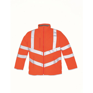 Hi Vis Kensington Jacket (with Fleece Lining)