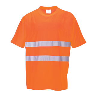 Hi-Cool T-Shirt Orange ISO 20471