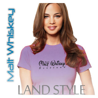Malt Whiskey Women Crew Neck Land Style